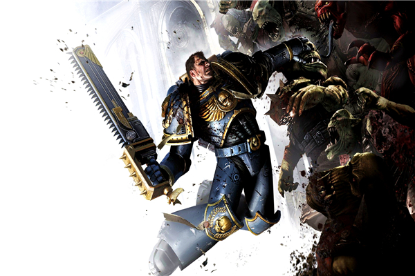 Free shipping game 40 000 wallpapers custom canvas posters for Decor 40k
