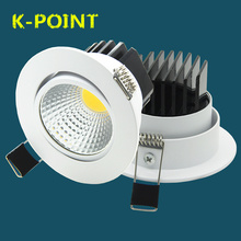 Modern Home indoor decoration Super Bright Recessed LED Downlight COB 5W 7W 9W 12W LED Spot light LED Ceiling Lamp AC 110V 220V