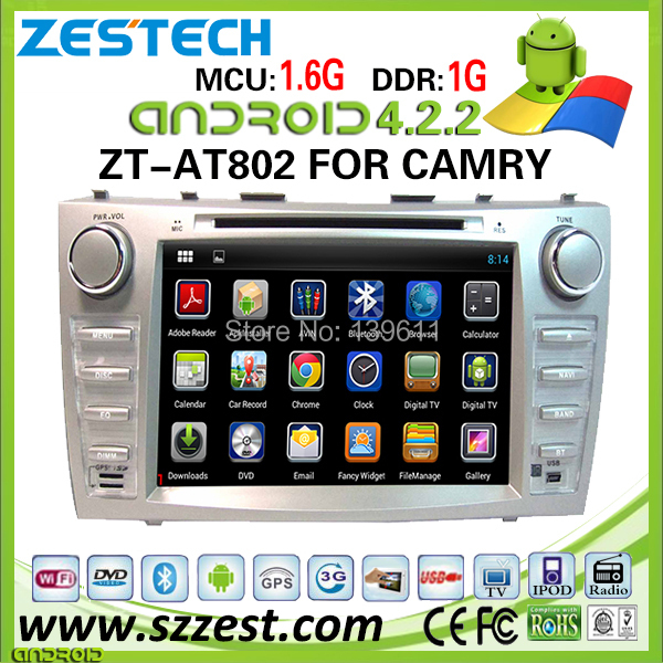 car dvd gps navigation for Toyota Camry car dvd gps navigation system tv dc with dvd Android 2011 ZT-AT802(China (Mainland))