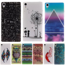 Buy Fashion Dandelion owl Pattern Silicone Soft TPU IMD Cell Phone Back Cover Case Sony Z2/Sony Xperia Z2 D6503 D6502 D650 L50W for $1.50 in AliExpress store