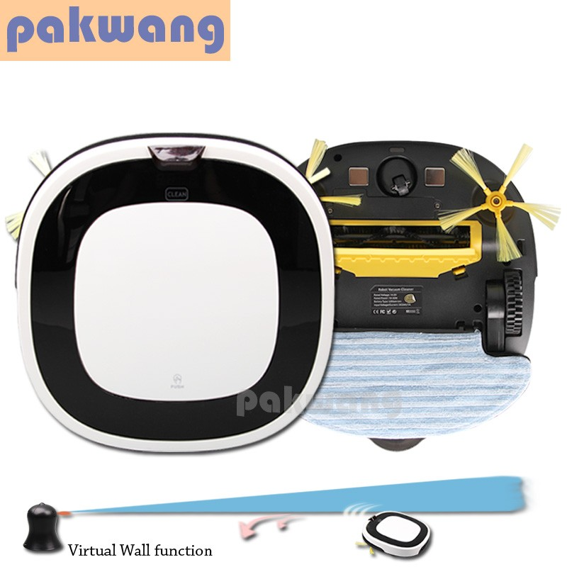 Household Robot Vacuum Cleaning 4 in 1 Intelligent Carpet Sweeper D5501 Vacuum Cleaner Wet and Dry Mop(China (Mainland))