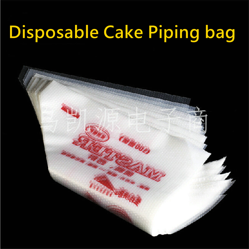 Cake Decorating Bag How To : Free Shipping Thickened Disposable Cream Cake Icing Piping ...