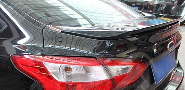 racing style rear spoiler ford focus 3 sportage auto parts 2012 2013 sedan 4 doors hot selling - China Car Accessories-Decorations-Ornaments store