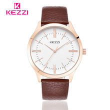 2016 Women Dress Watch Simple Sports Watches KEZZI Fashion Casual Outdoor Boy Girls Relogio Waterproof Men Wristwatches lovers