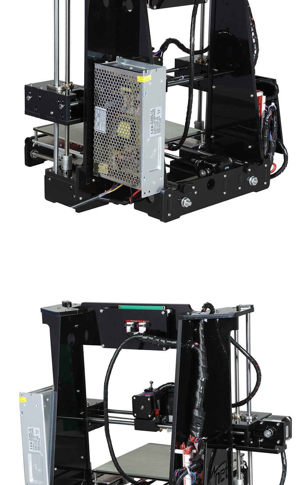 3d Printer Comparison >> Anet A6 A8 3D Printer Kit +Hotbed+Filament+SD Card+LCD