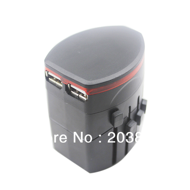 delivery through US Warehouse Universal Travel Plug Power Outlet Socket Adapter Converter Charger US UK EU AU