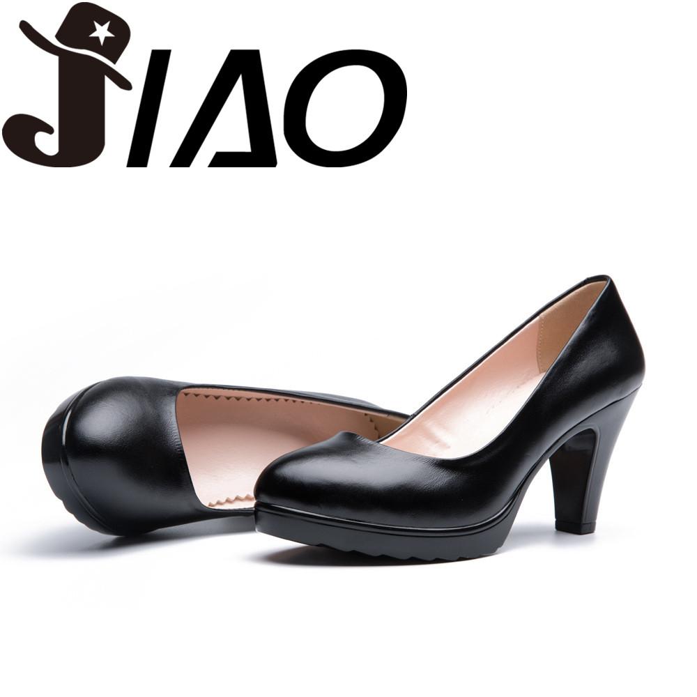 2016 spring The New Shoes Genuine Leather Occupation Work shoes trend fashion Shoes High-heeled shoes EU35-EU40(China (Mainland))