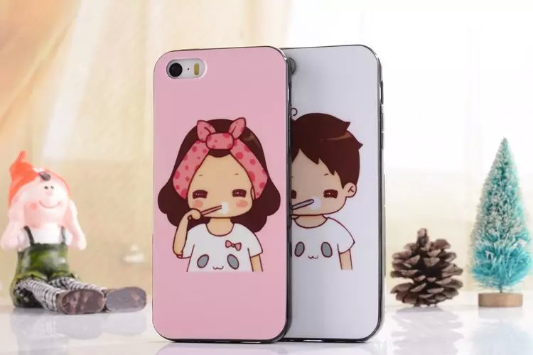 11 Styles Cartoon Cute Mixed Pattern Cell Phone Cases For iPhone 5S 5G Plastic Protective Back Covers Free Shipping(China (Mainland))