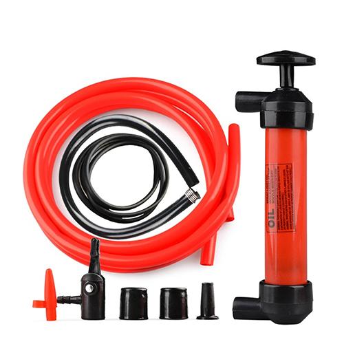 New Arrival Siphon Transfer Pump Kit Fuel Oil Gas Any Liquid Kerosene Air Fluid Hand Adapter