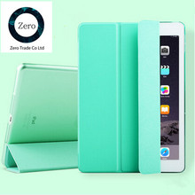 Ultra Thin Stand Design PU Leather case for ipad 3 4 2  Colorful Flip Smart Cover Smartcover for iPad4 Free shipping