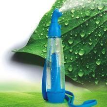Portable Manually Garden Plants Water Sprayers Mini Pressure Type Irrigation Spray Bottle Watering Sprayer for Home Office Use(China (Mainland))