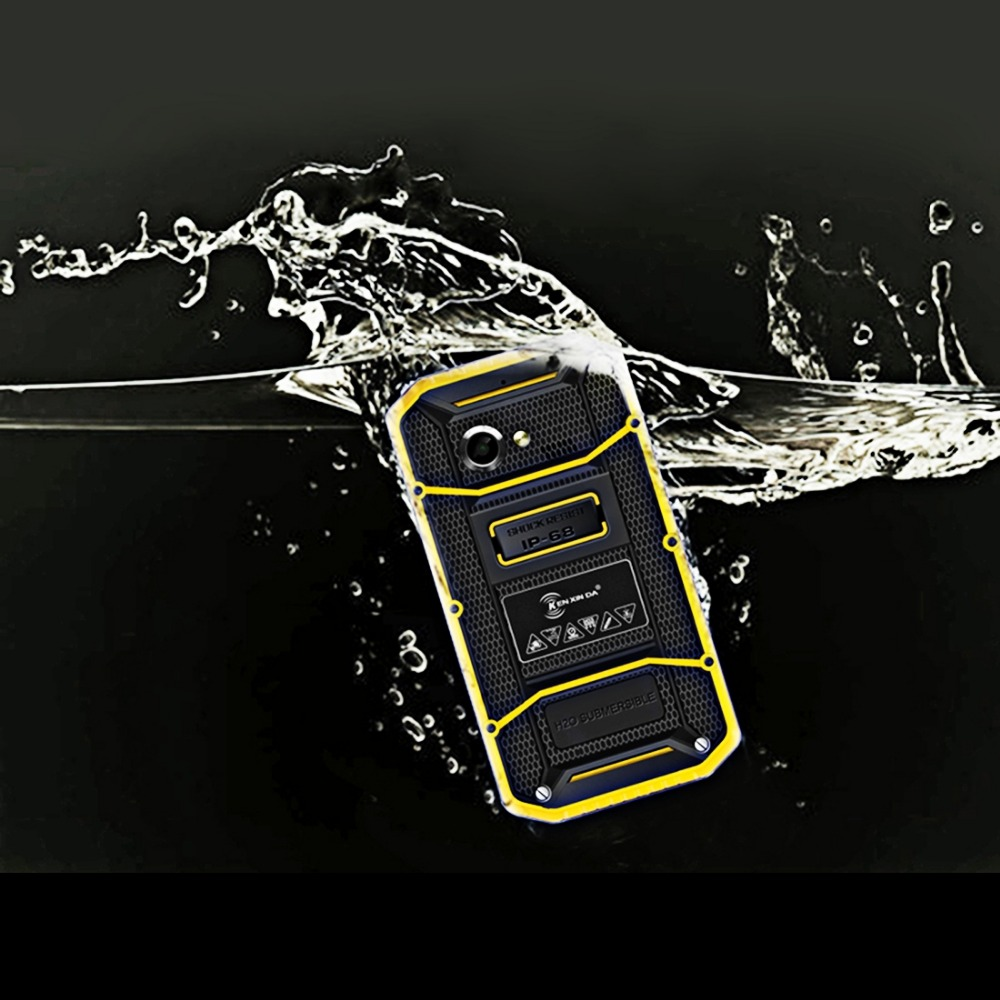KEN XIN DA Proofing W8 4G Smart Mobile Phone 16GB ROM 2GB RAM 5.5 inch Andriod 5.1 MTK6753 Octa Core 3000mAh Battery(China (Mainland))