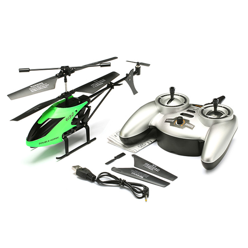 New Double Horse 9130 3.5CH 2.4G Alloy RC Helicopter With Gyro For Kids Toy Present Gift Outdoor Toys(China (Mainland))
