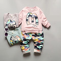 Camo Kids Set Baby Girl Clothes Boys Clothes Toddler Long Sleeve T shirt Baby Pants Casual