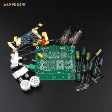 Buy Audiophile 6J1 Tube preamplifier Headphone amplifier Power amp tube buffer DIY kit Base music fidelity X-10D circuit for $13.29 in AliExpress store