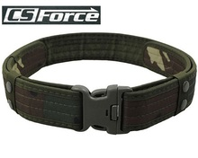 Tactical Military Belt with Buckle Outdoor Sports Cycling Hunting Waist Belt Men Sportswear Camping Hiking Hunting Accessories