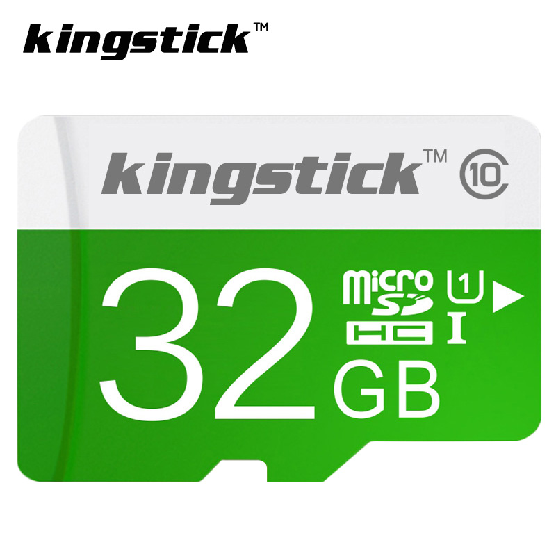 Kingstick Real capacity flash memory card 32GB class 10 micro sd card 4GB 8GB 16 GB 64GB TF card free adapter free shipping(China (Mainland))