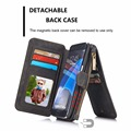 CaseMe Two in One Luxury Leather Magnetic Wallet phone case for Samsung Galaxy note 5 s6