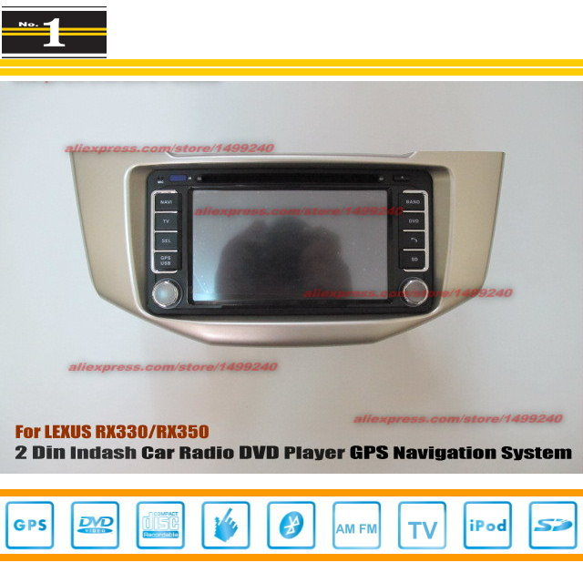 For LEXUS RX 330 2003~2012 - Radio CD DVD Player & GPS Navigation System / Double Din Car Audio Installation Set(China (Mainland))