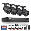 SANNCE 8CH DVR 960H 1080P Output HDMI CCTV System 4PCS 800TVL Home Security Waterproof Night Vision