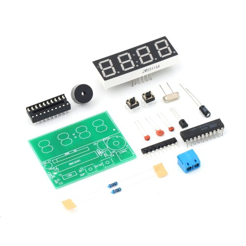 image for New Arrival 1set Digital Electronic C51 4 Bits Clock Electronic Produc
