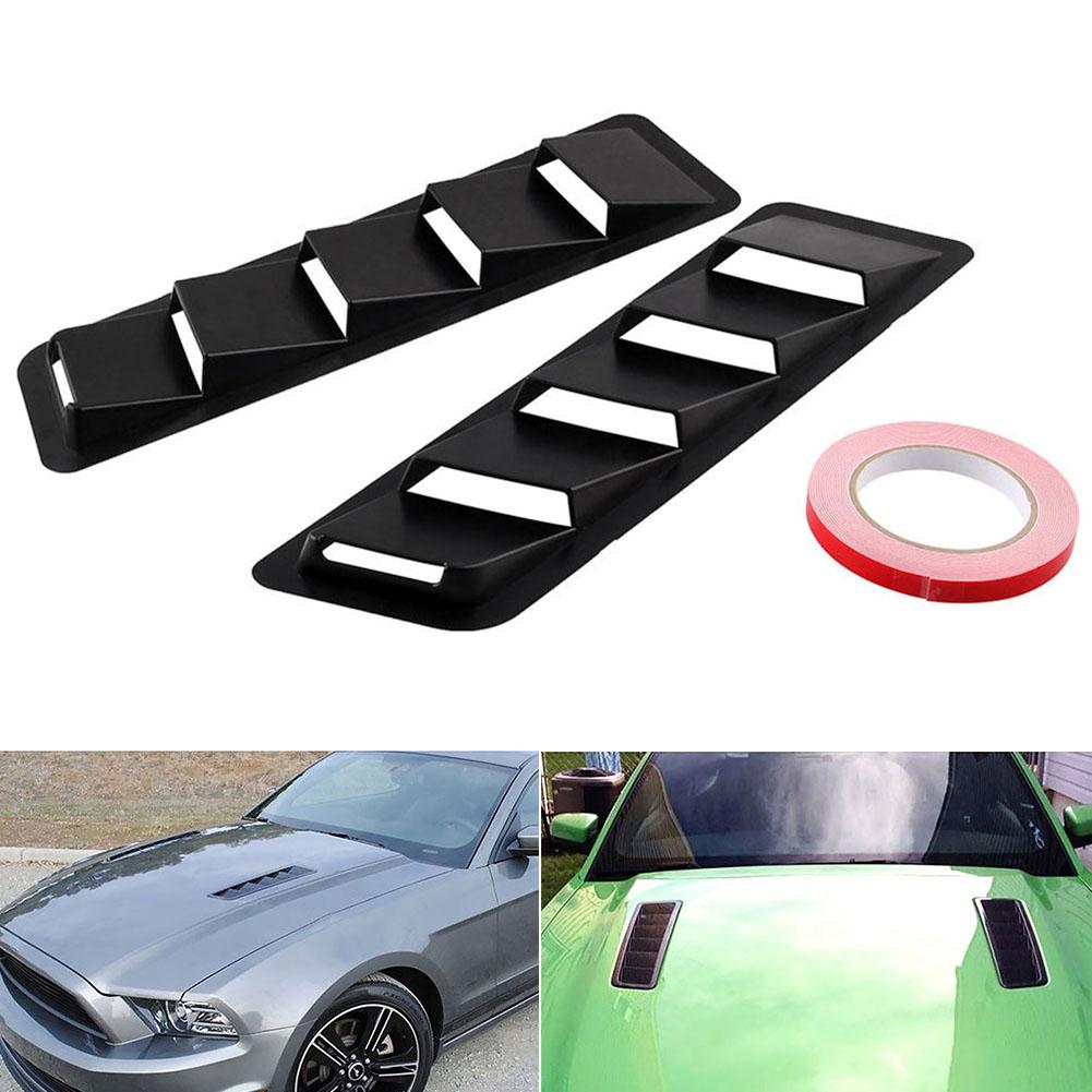 1 пара воздухозаборника автомобиля аксессуары отделка Набор жалюзи матовый aeProduct.getSubject()