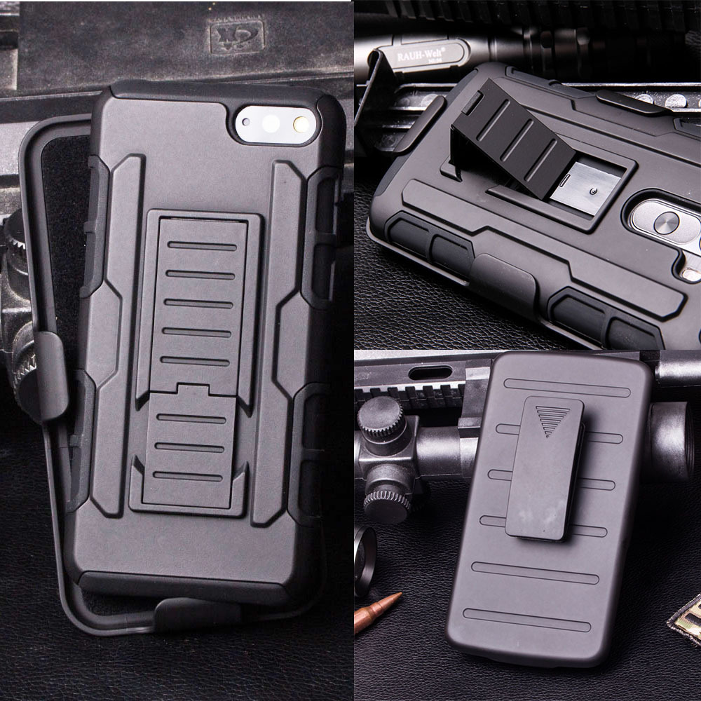 For Touch 5 Future Impact Holster Hybrid Hard Case For Apple iPod Touch 5 Protective Phone Cover + Touch Stylus(China (Mainland))