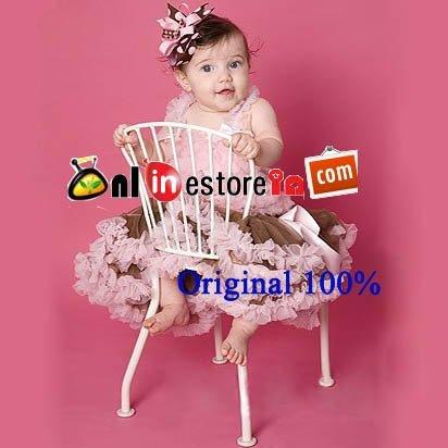 Wholesale baby girl tutu sets babies petti-dress baby pettiskirts and ruffly tops