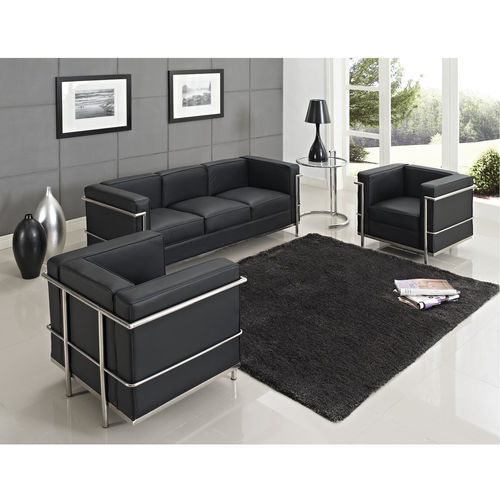 Le corbusier lc2 sofa set lc2 1 2 3 seater sofa modern design living room so - Fauteuil design le corbusier ...