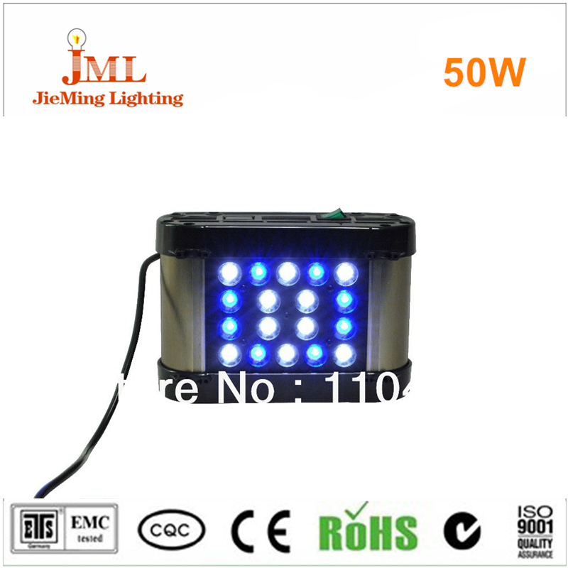 sales led aquarium light led reef coral tank light 50w remote controller dimming 100 3
