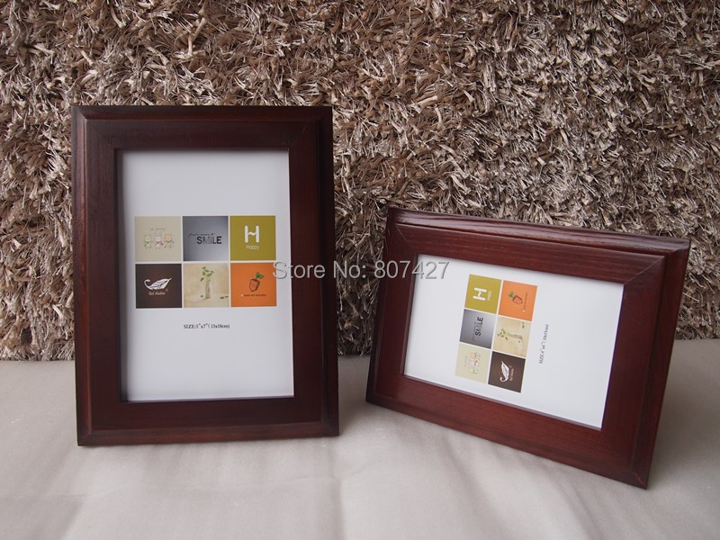 A4 Popular Wood Picture Photo Frame Solid wood A4 certificate Frame(China (Mainland))