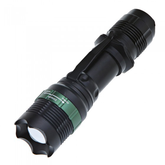 CREE Q5 800LM High Power Torch Zoomable LED Flashlight Torch light lantern Power By 3xAAA or 1x18650 Battery