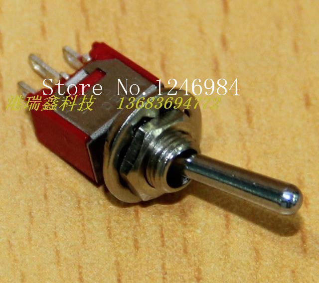 [SA]TS-4 single tripod two tranches M5.08 small toggle switch , shaking his head aside the rocker switch } { overstock--100PCS/L<br><br>Aliexpress