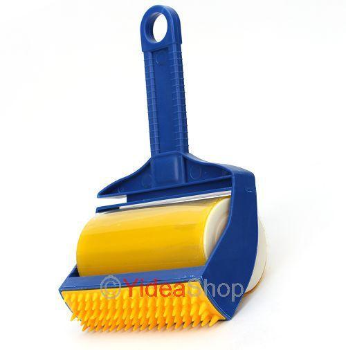 Wholesale - 1pc Picker Cleaner Reusable Rubber Built-in Fingers Roller Brush 80008