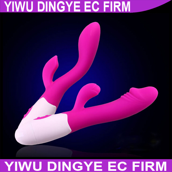 Silicone 10 Speed Rabbit Vibrator Clitoris Stimulator Erotic Toys Sex Toy for women Sex Products(China (Mainland))