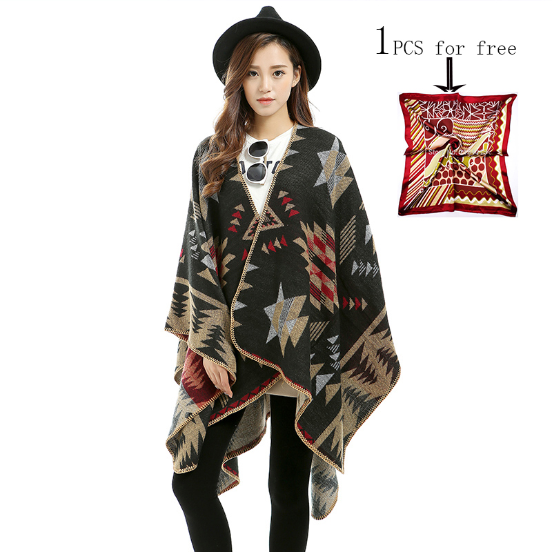 High Quality Wool Blend Scarf Shawl Printing Women Hijab Scarf Brand Shawls za Winter Poncho Shawls Scarves S-009(China (Mainland))