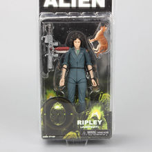 "NECA Alien Ripley Jumpsuit PVC Action Figure Collectible Model Toy 7"" 18cm(China (Mainland))"
