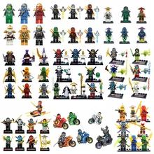 2016 Ghost Phantom Ninja Ninjagoed Minifigures Skylor Mastar Wu Jay Kai Building Blocks Bricks Toys Compatible with legoelieds(China (Mainland))