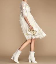 2016 new spring and autumn daisy Lace sexy Dress Free Shipping WA104(China (Mainland))
