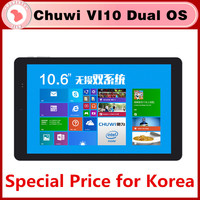 In stock !!! Original Chuwi VI10 dual os quad core 2G 32G 10.6 inch win 8.1+ Android 4.4 HDMI 2.13GHz Z3736F 2 in 1 pc tablet