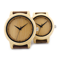 BOBO BIRD A09 Ladies Casual Quartz Watches Natural Bamboo Watch Top Brand Unique Watches For Couple