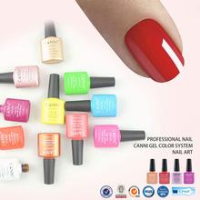 CANNI UV Nail Polish 49-72 Bling Shiny UV Gel Nail Polish Varnish LED Soak Off Glue Nail Art UV Gelpolish 238Colors CN03(China (Mainland))