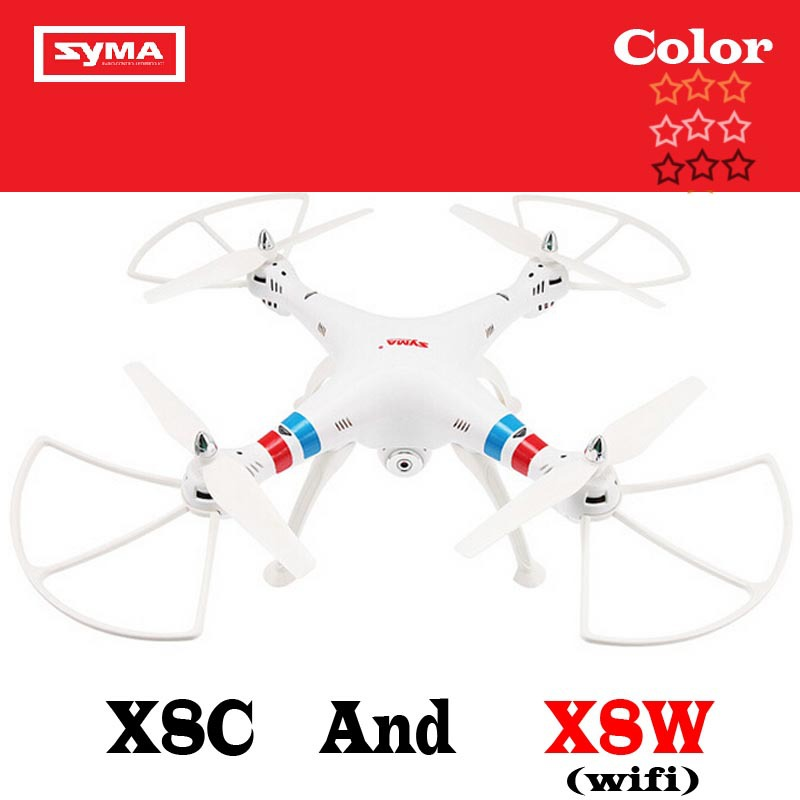 EMS Syma X8W And Syma X8C 2.4G 4ch 6 Axis Venture with 2MP WIFI FPV Wide Angle Camera RC Quadcopter RTF RC Helicopter(China (Mainland))