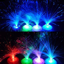 Hot New Multi Color Changing LED Optic Christmas Tree Star Light Xmas Gift Children's toys starry sky Festival Decorations(China (Mainland))