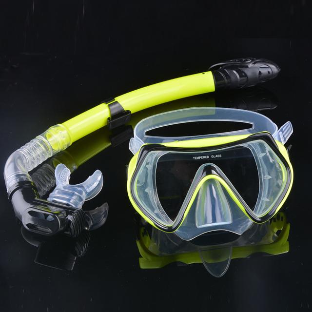 Scuba Diving Mask & Snorkel Set