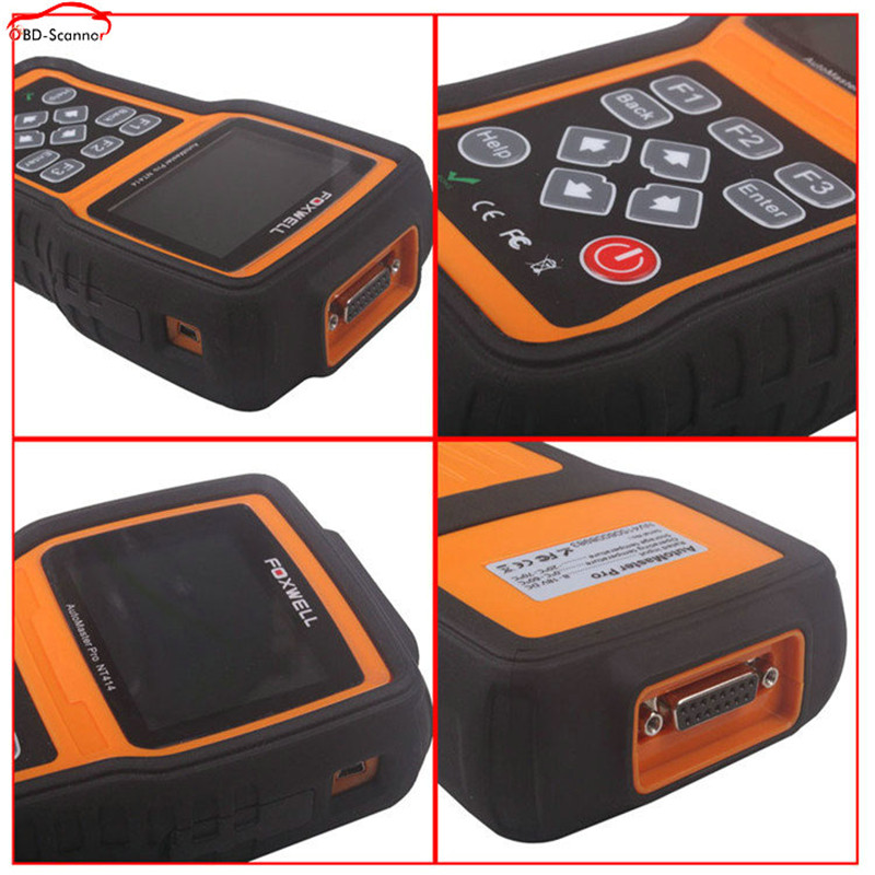automotive scanner NT414 Better than md802 Creader VIII Diagnostic Scanner For ECU ABS Airbag Transmission(China (Mainland))