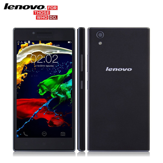 "Оригинал Lenovo P70T P70T 5.0 ""IPS MT6732 Quad Core 64-бит 1.5 ГГц 16 Г ROM 2 Г RAM 13.0MP + 5.0MP Камера Android Смартфон"