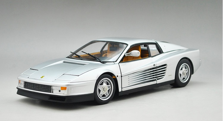 1:18 Voiture Car Modern Brinquedos For Vintage 1984 TESTAROSSA Die Cast Metal Car Model Kids Toys Men Gift Collection(China (Mainland))
