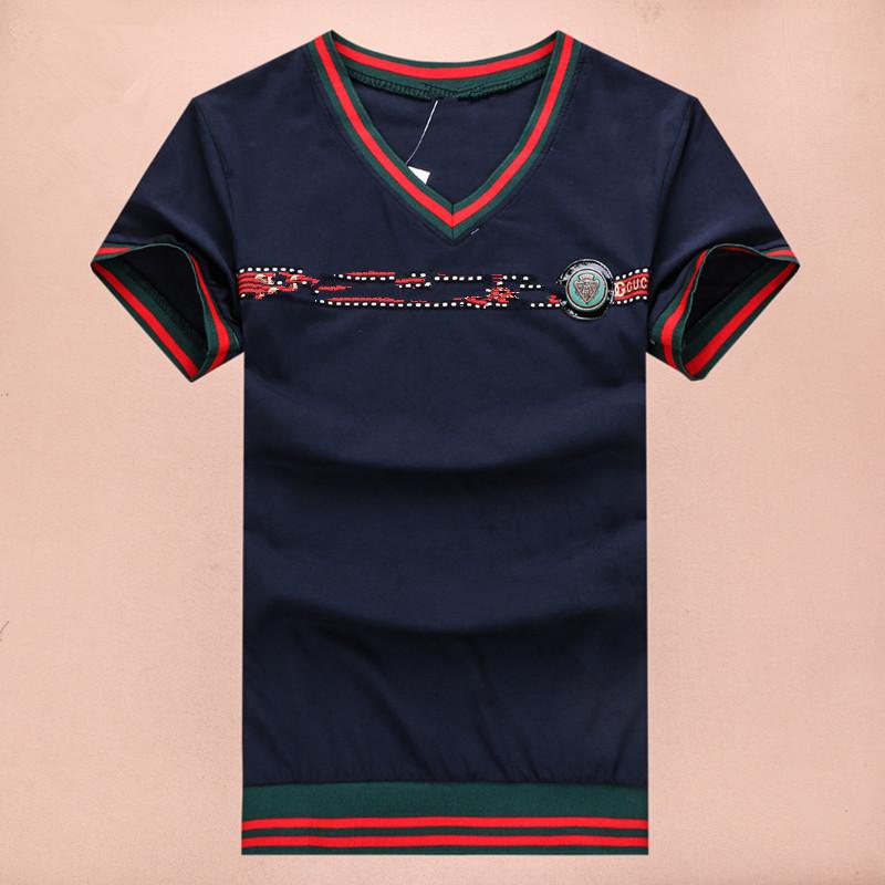2015 New sample fashion brand design mens tops&tees causal short AX MEN SHIRT plus size slim design summer AJ t shirt(China (Mainland))