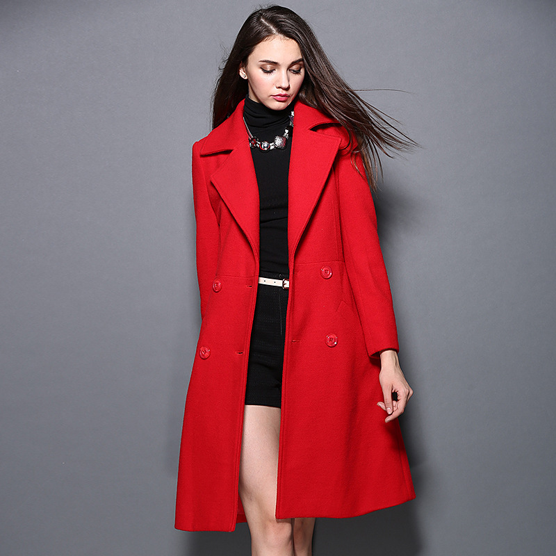 Collection Long Red Coat Pictures - Reikian